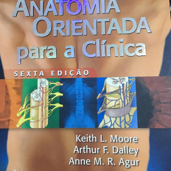 Livro de anatomia orientada para clinica
