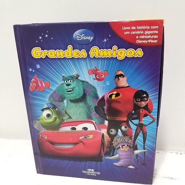 Livro infantil disney grandes amigos