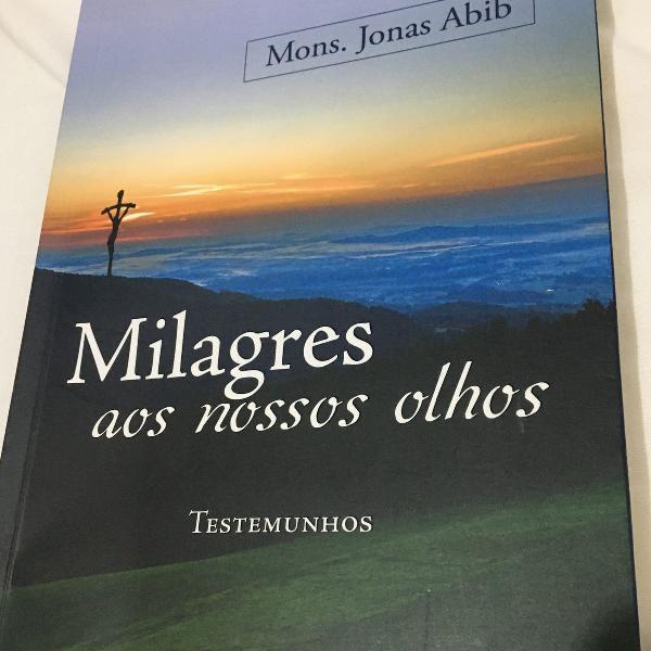 Livro milagre aos nossos olhos