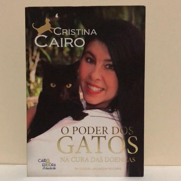 Livro o poder dos gatos na cura de doenças
