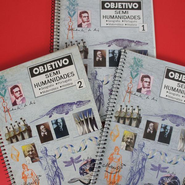Livros curso objetivo coleção completa intocáveis