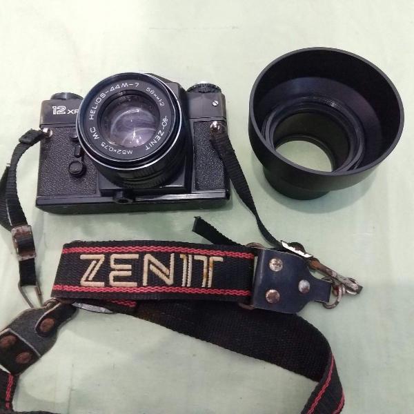 Maquina fotográfica zenit russa