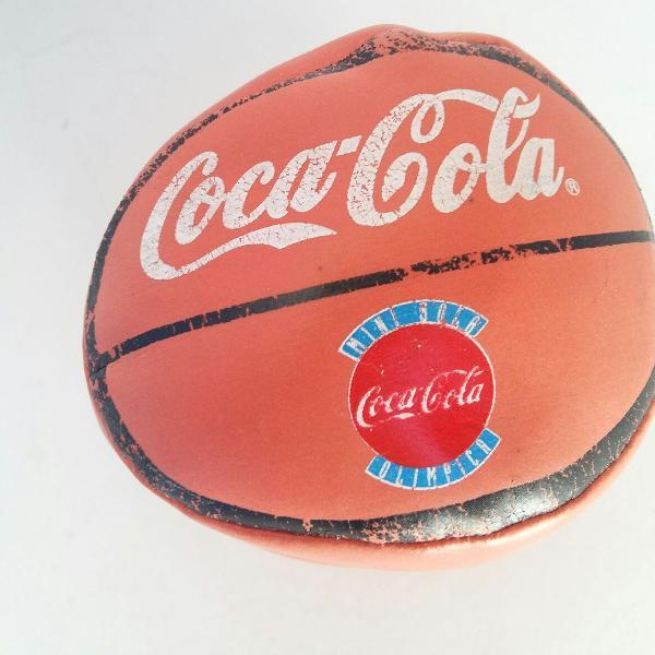 Mini bola coca cola olimpíadas 1996 atlanta basquete nba