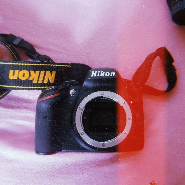 Nikon d3200 + lentes + acessórios