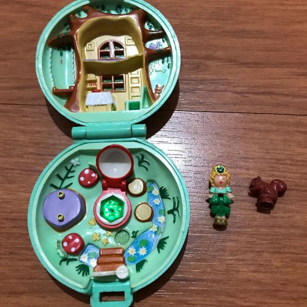 Polly pocket jeweled forest 1992