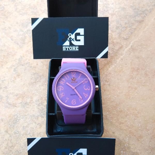 Relógio adidas silicone