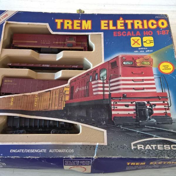 Trem elétrico completo