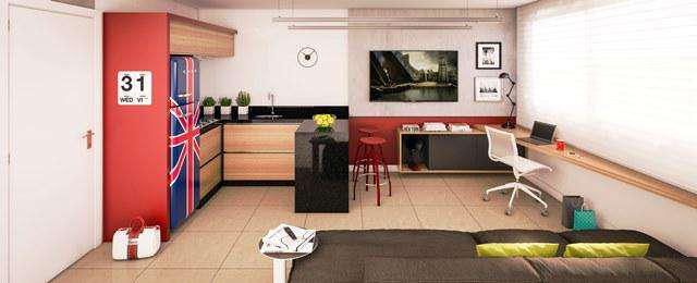 Apartamento, ouro preto, 1 quarto, 1 vaga