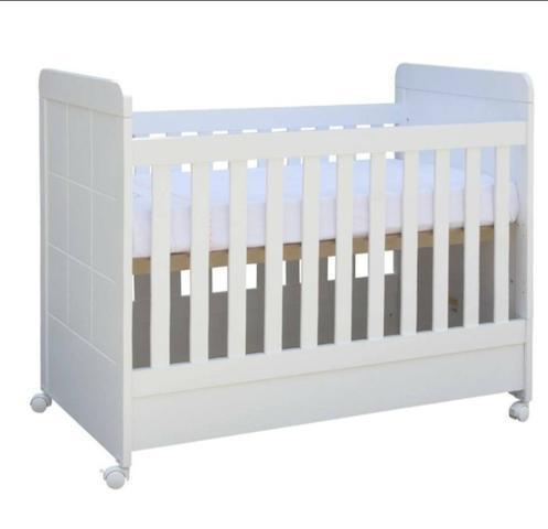 Berço - mini cama abracadabra branco excelente estado