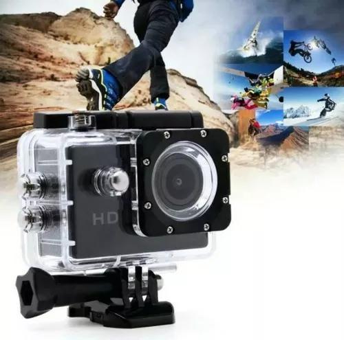 Camera veicular filmadora prova d` água capacete moto