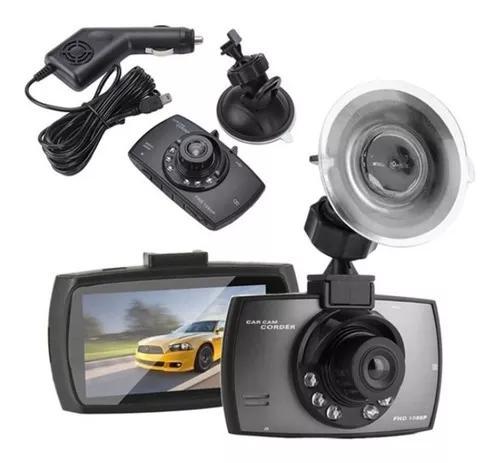 Camera veicular gravação fhd 1080 carro led visão noturna
