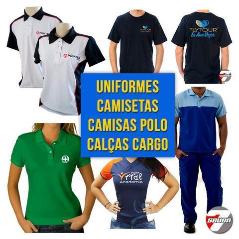 Camisetas sob encomenda - uniformes