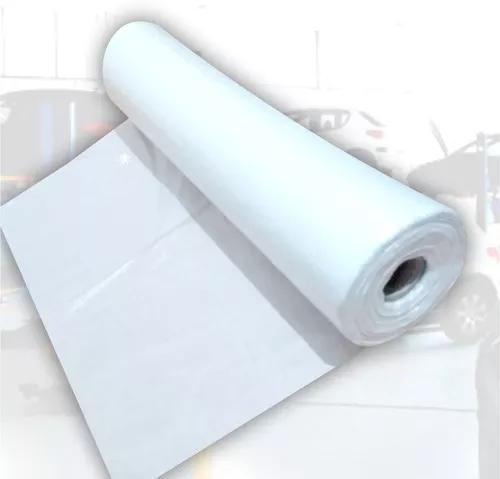 Capa plástica descartável p/ banco de carro - bobina