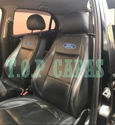 Capas banco carro 100% couro ford fiesta sedan 2001 a 2014