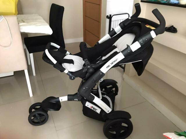 Carrinho de bebê - abc design 3tec