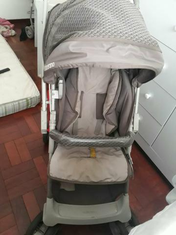 Carrinho de bebê e bebé conforto galzerano