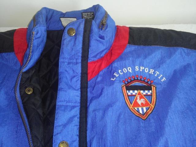 Casacão Esportivo - Le Coq Sportif - Vintage anos 90