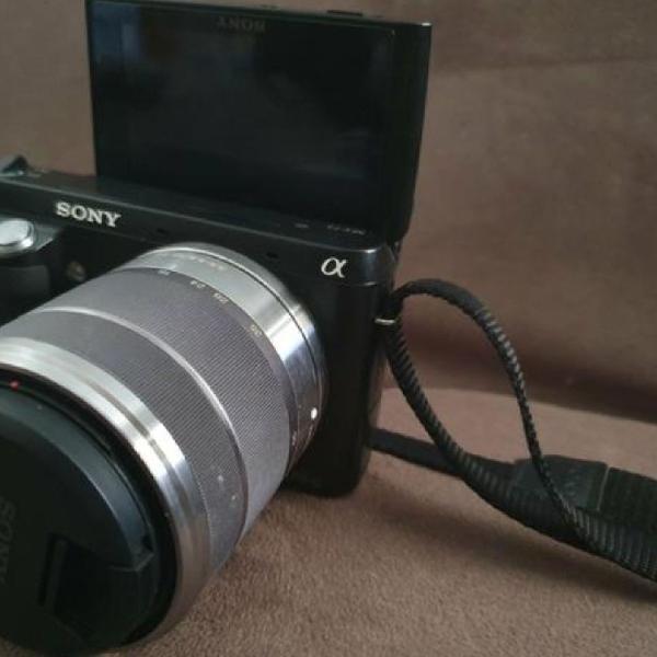 Câmera sony nex semi profissional