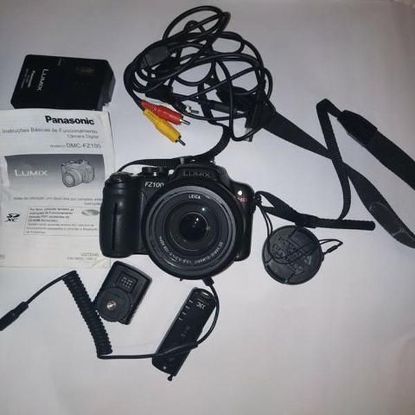 Câmera digital + bolsa portátil