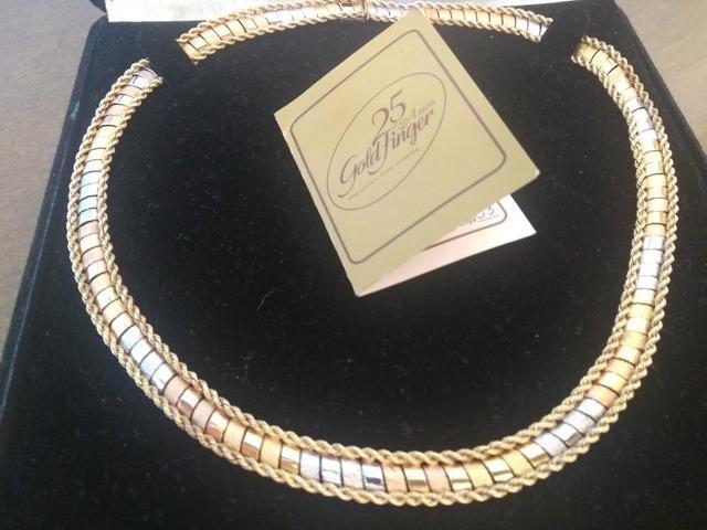 Gargantilha 18k (3 ouros)