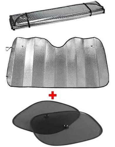 Protetor solar parabrisa quebra sol painel carro e lateral