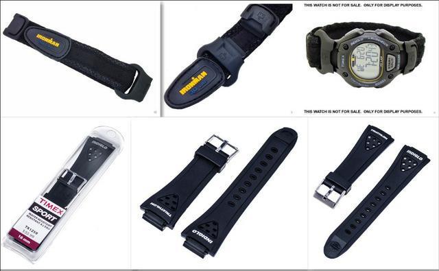 Pulseiras de reposição relogios timex ironman triathlon