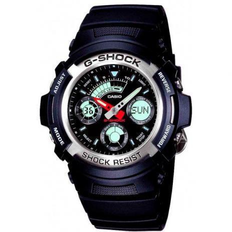Relógio g-shock masculino aw-590-1adr
