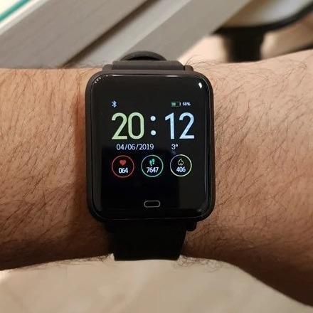 Relógio inteligente smartwatch q9 - entrega grátis