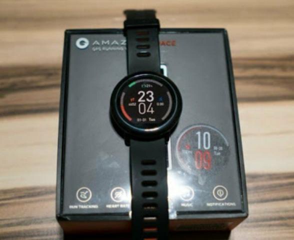 Relógio smartwatch amazfit pace