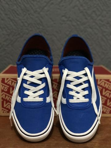 Tênis vans zushi sf comfycush lapis blue true white
