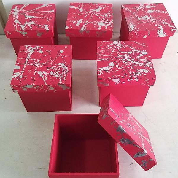 Caixinhas para presentes kits natal