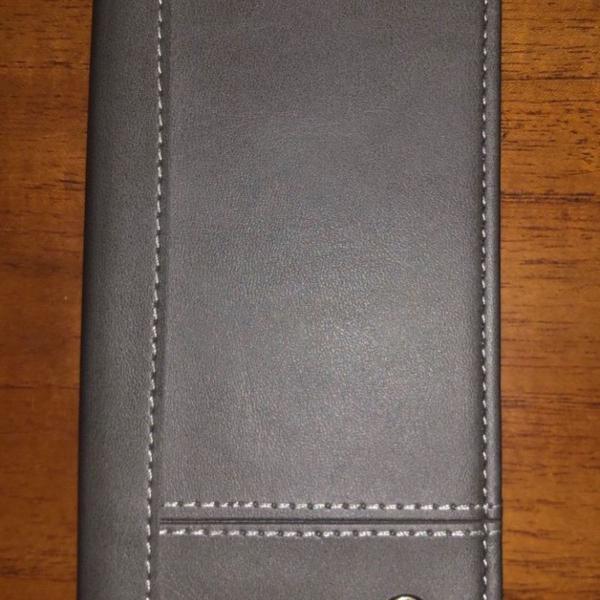 Capa carteira de couro pra iphone x
