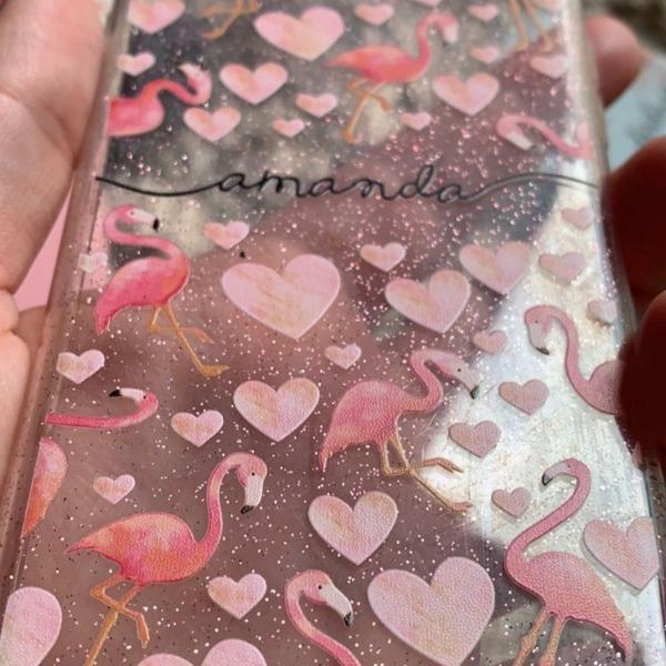 Capinha gocase flamingo fofinha iphone 7