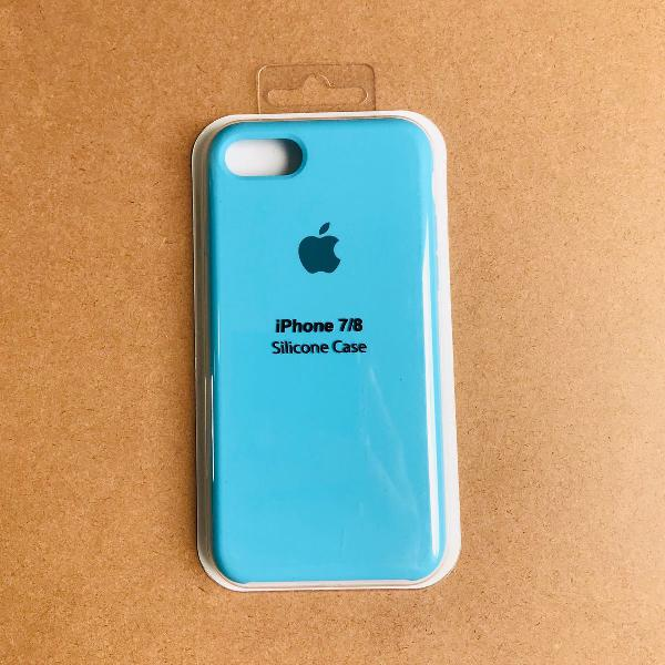 Capinha silicone apple - iphone 7/8