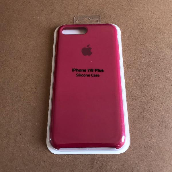 Capinha silicone apple - iphone 7/8 plus