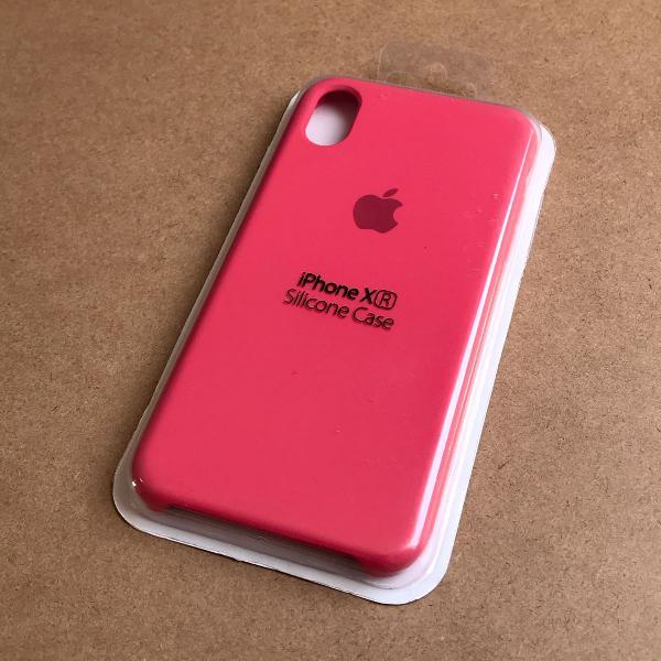 Capinha silicone apple - iphone xr vermelho
