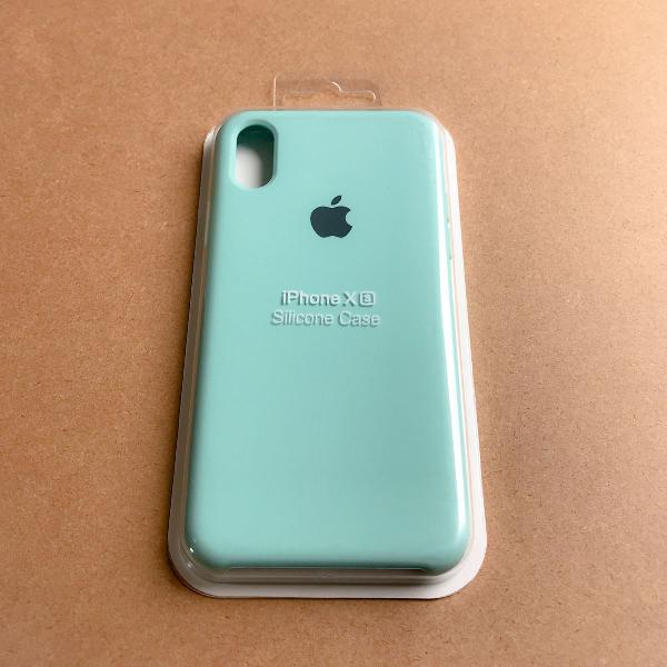 Capinha silicone apple - iphone xs