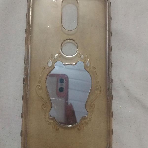 Capinha/case celular moto g 4 plus espelho