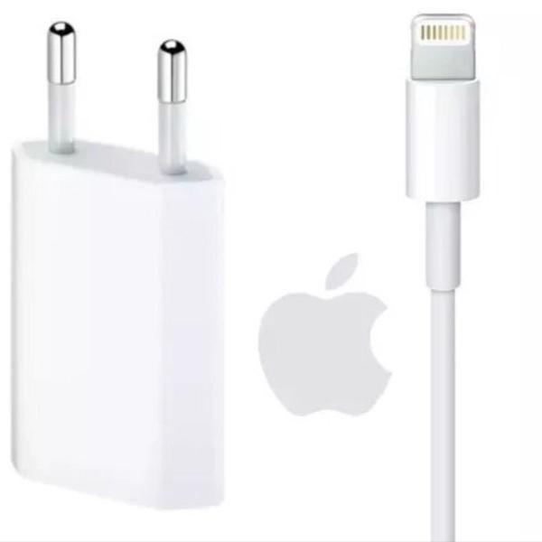 Carregador apple + cabo de dados apple 1ª linha