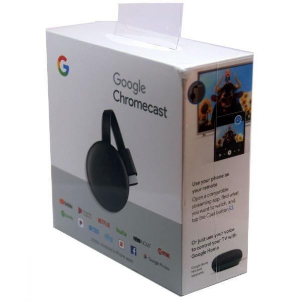 Chromecast 3 full hd 1080p hdmi original 1 ano de garantia +