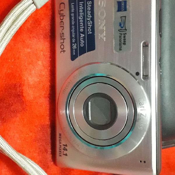 Câmera fotografica sony cyber shot 14.1 mega pixels
