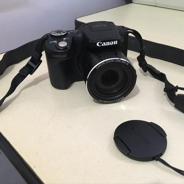 Câmera powershot sx510 hs canon
