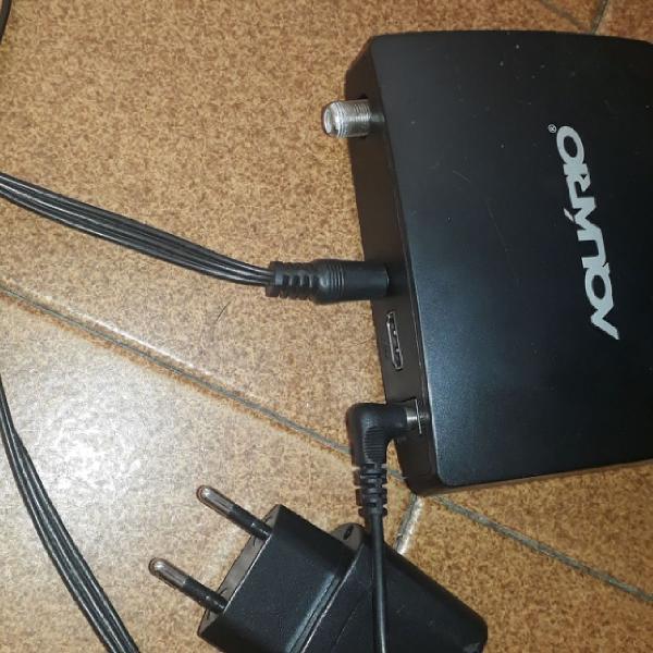 Conversor digital com antena.