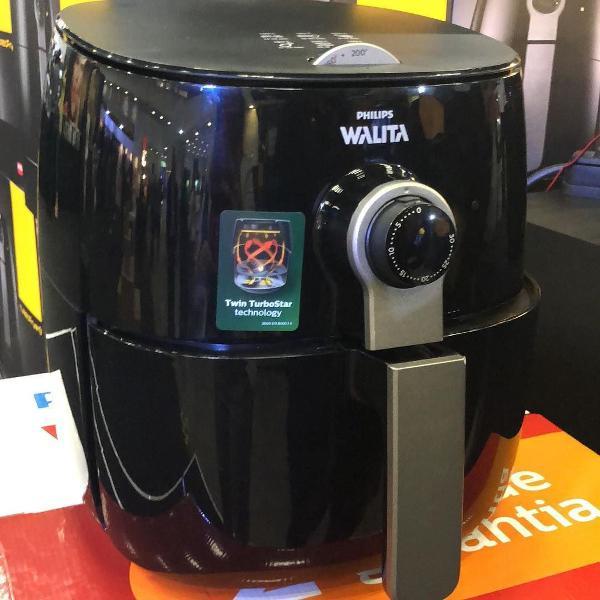 Fritadeira elétrica turbofryer philips walita (lacrada na