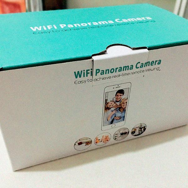 Lâmpada espiã - câmera - ip/wifi