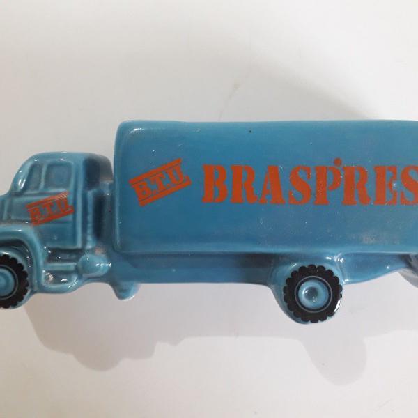 Miniatura caminhão braspress