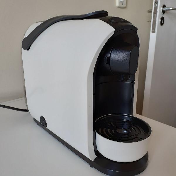 Máquina de café mimo três corações + 80 cápsulas