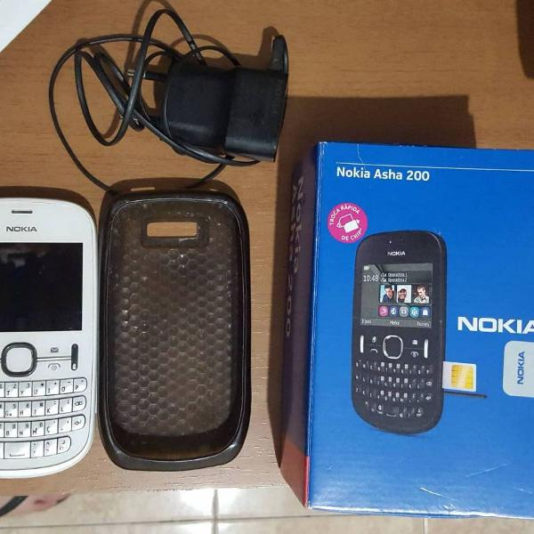 Nokia asha 200 branco