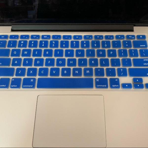 Proteção de teclado para macbook pro 13 e 15 até 2015