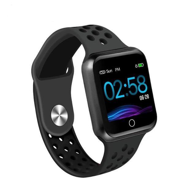 Smartwatch com monitor cardíaco